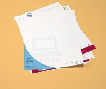 Impresión Papel de Carta