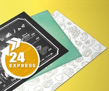 Impresión de Manteles de Papel Express