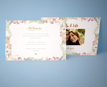 impresion para Invitación de boda - Special (210 x 140 mm)