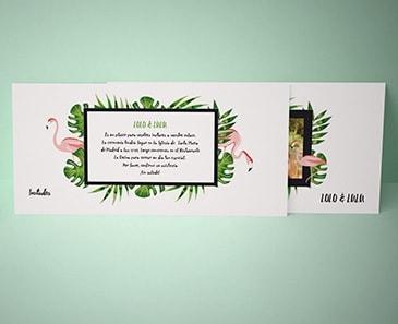 impresion para Invitación de boda - Classical (210 x 100 mm)