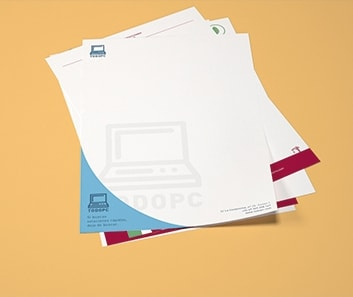 Impresión de Papel de Carta