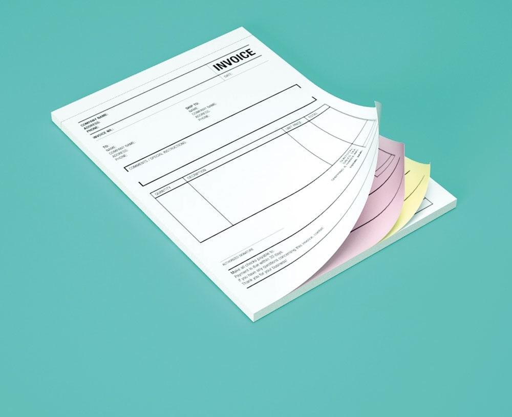impresion para talonario autocopiativo: Original y Copia