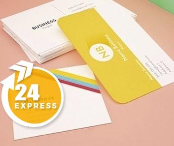 Impresión de Tarjetas de Visita Express