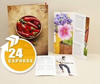Impresión de Dípticos Express