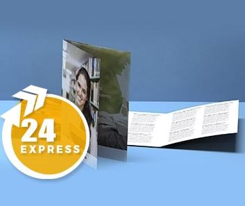 Impresión de Trípticos Express