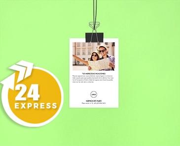 impresion para Flyer A7 Express