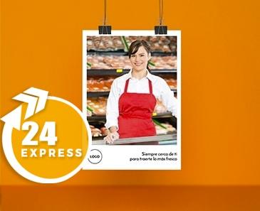impresion para Flyer A4 Express