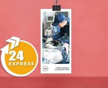 impresion para Flyer DL Express