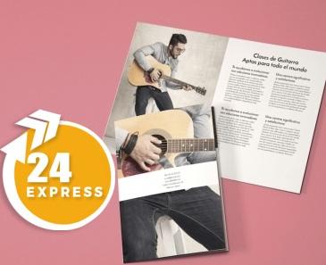 impresion para Díptico A6 Express