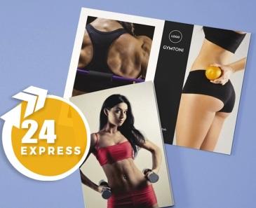 impresion para Díptico A7 Express