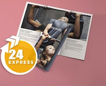 impresion para Tríptico A3 Express