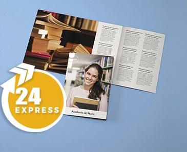 impresion para Tríptico A4x3 Express