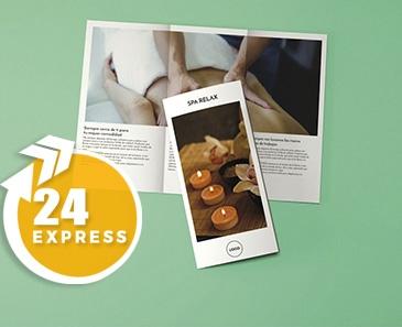 impresion para Tríptico A4 Express