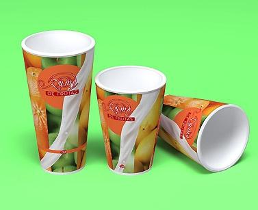 impresion para Vaso de cartón (bebidas frias)